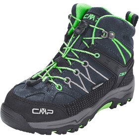 CMP Campagnolo Rigel Mid WP Trekking Shoes Kinder asphalt-ice mint
